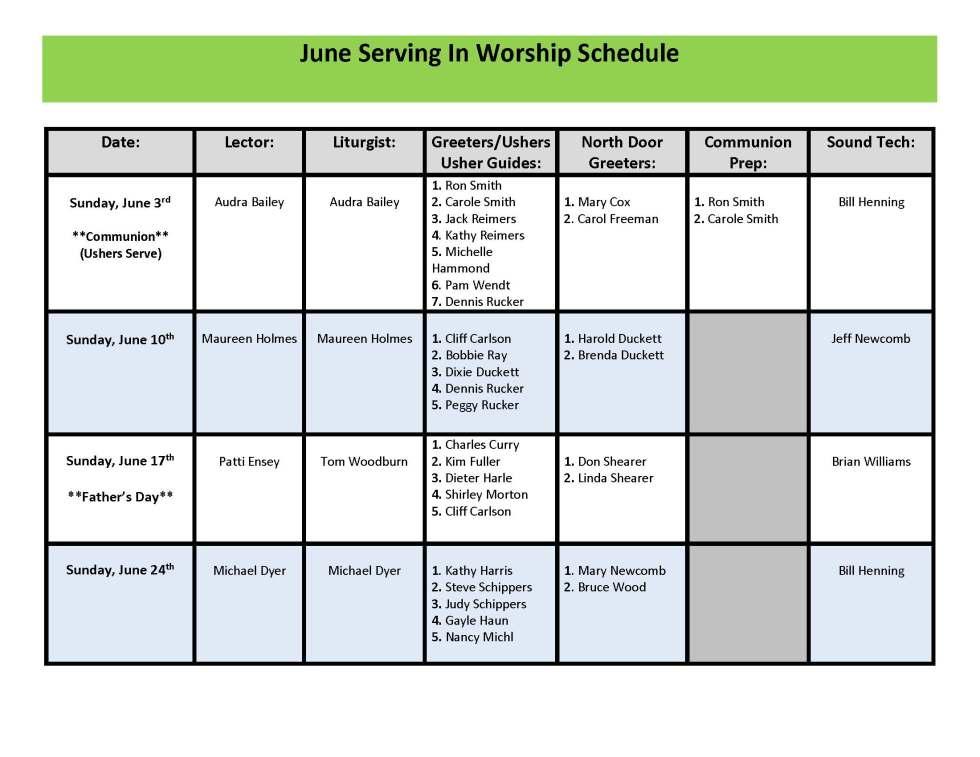 06 June SIW Schedule updated 6-7