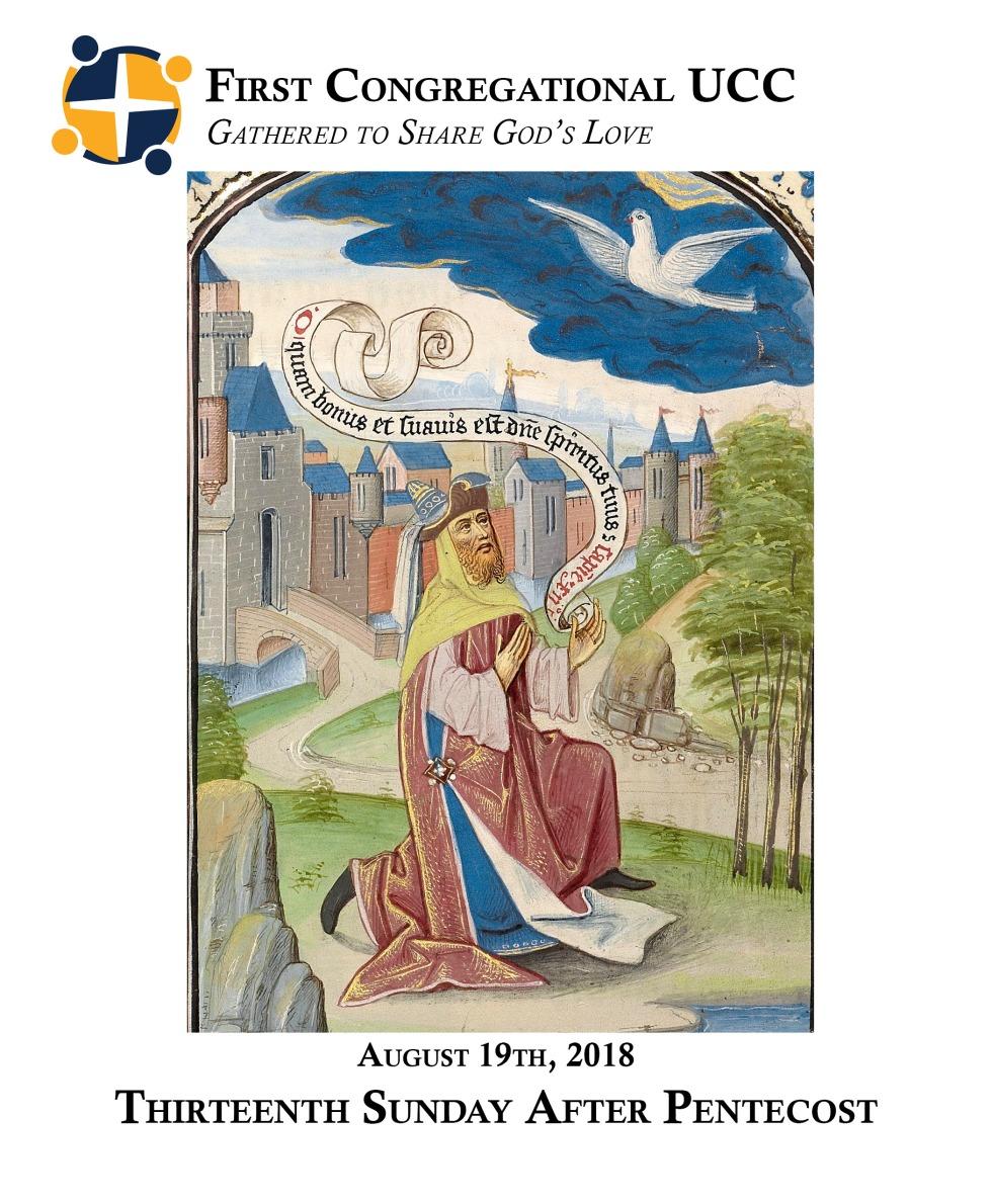 8.19.18 Thirteenth Sunday after pentecost
