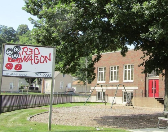 red wagon sign